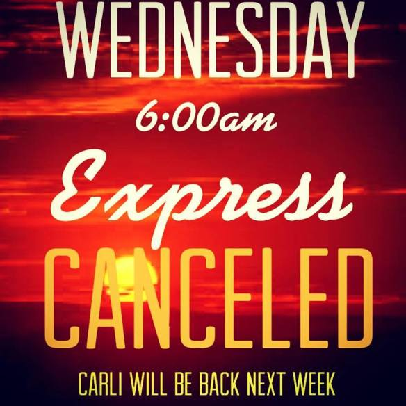 express canceled