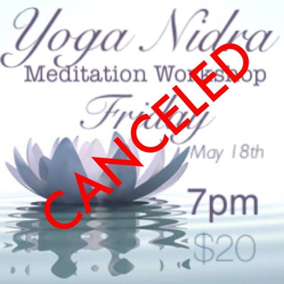 canceled nidra