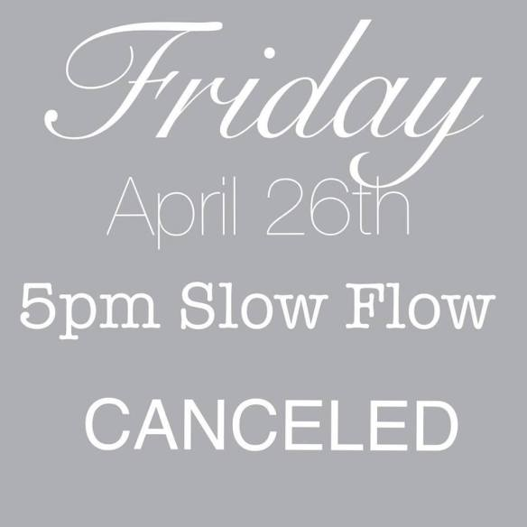 slow april